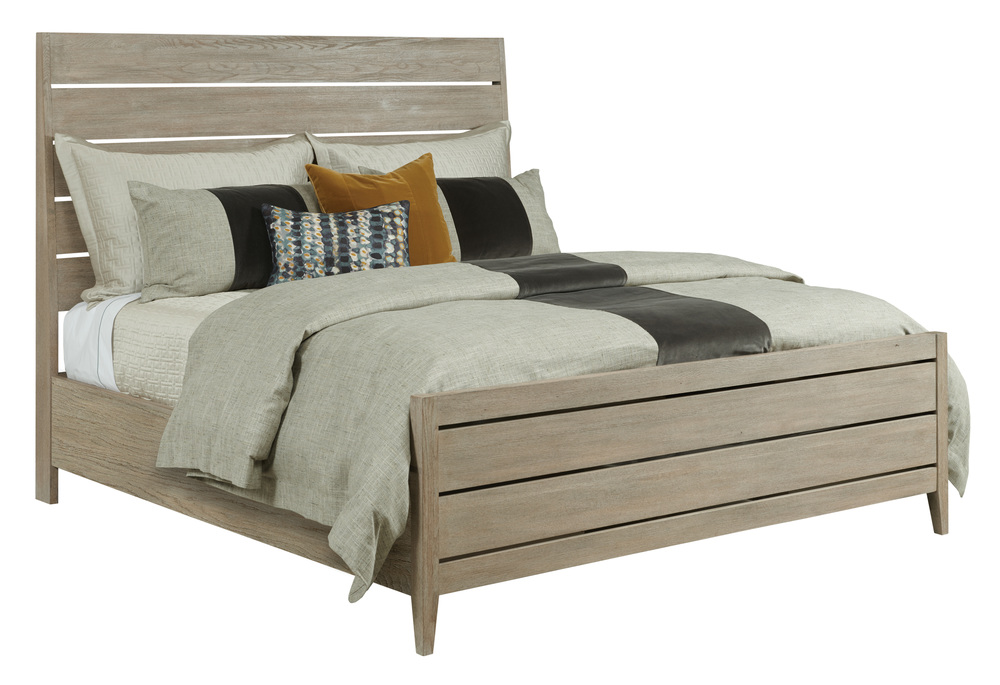 Kincaid Furniture - Incline Oak Bed with High Footboard