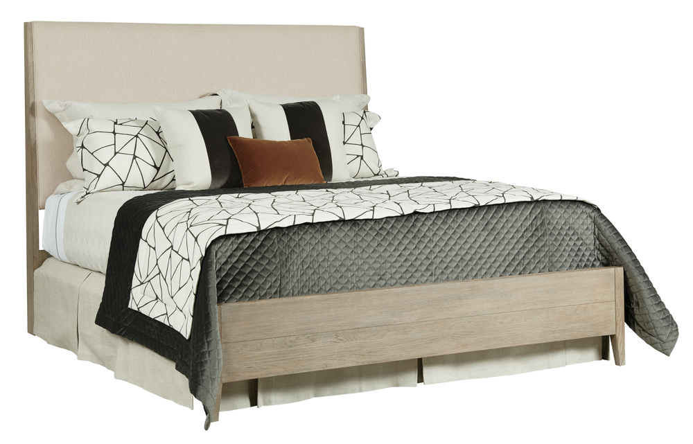 Kincaid Furniture - Incline Fabric California Bed with Medium Footboard