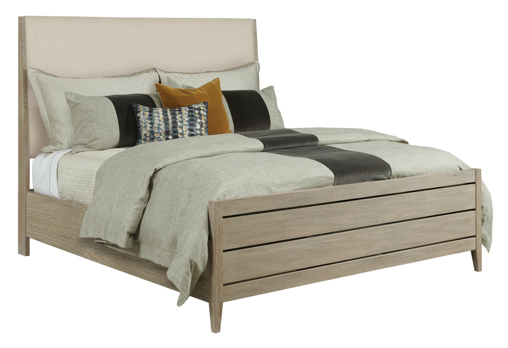 Kincaid Furniture - Incline Fabric Bed with High Footboard