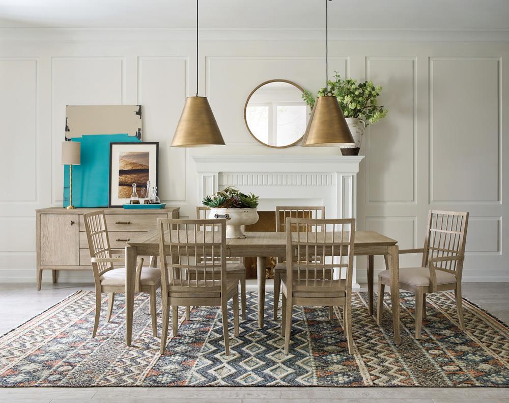 Kincaid Furniture - Symmetry Fabric Arm Chair