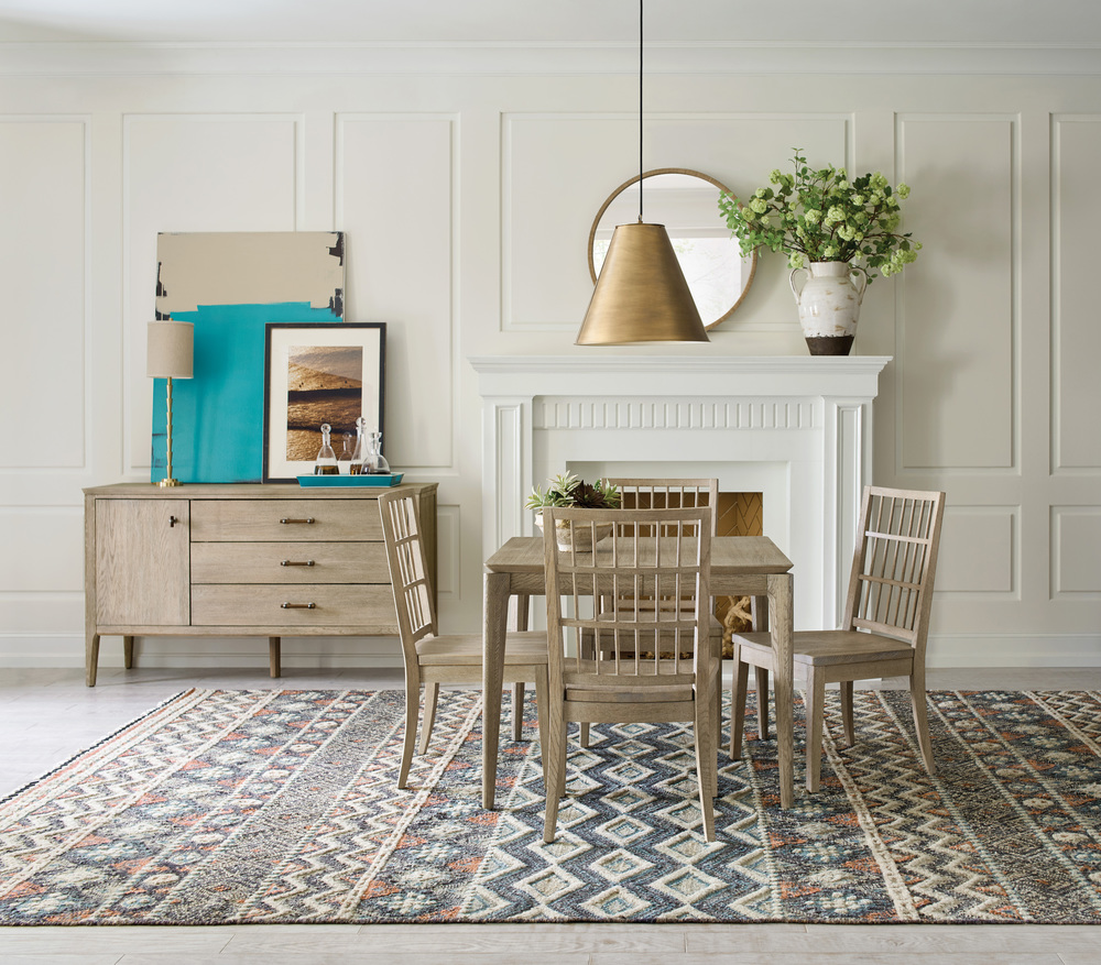Kincaid Furniture - Symmetry Wood Arm Chair
