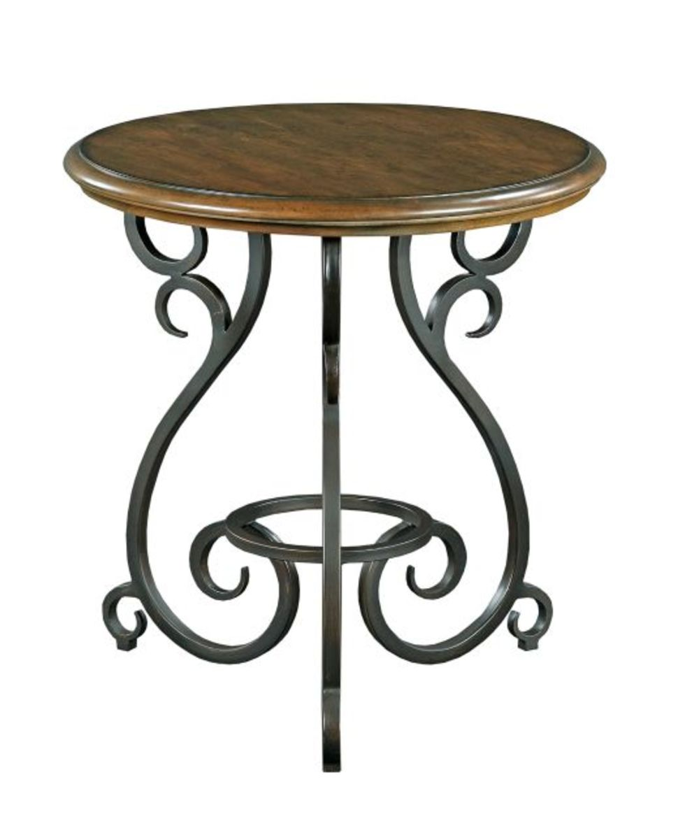 Kincaid Furniture - Accent Table w/ Metal Base
