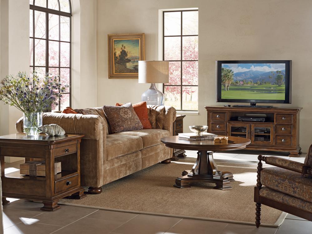 Kincaid Furniture - Portolone Rectangular End Table w/ Drawer