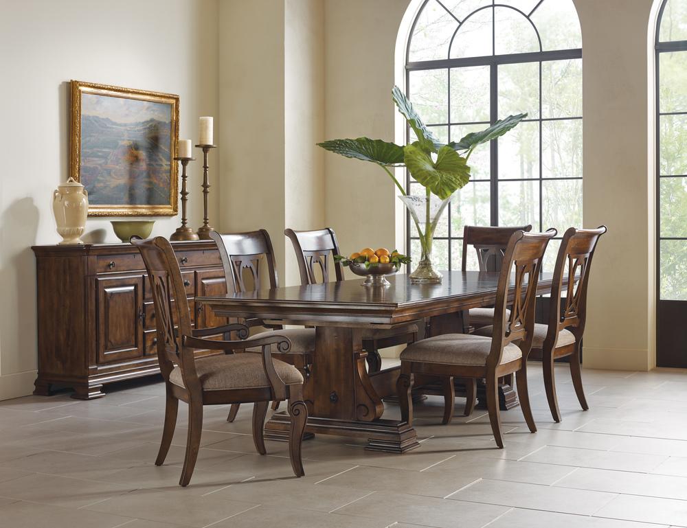 Kincaid Furniture - Harp Back Side Chair