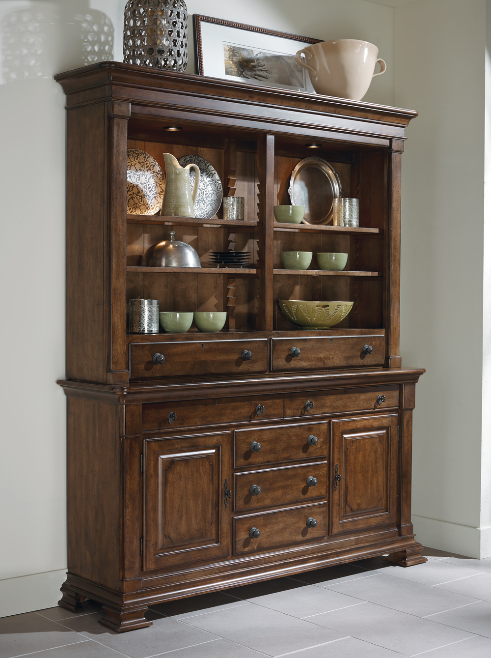 Kincaid Furniture - China Hutch w/ Base