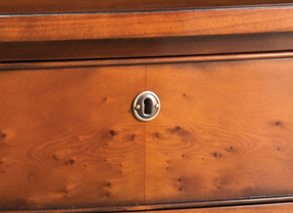 Kindel Furniture Company - Regency Bow Front Chest of Drawers