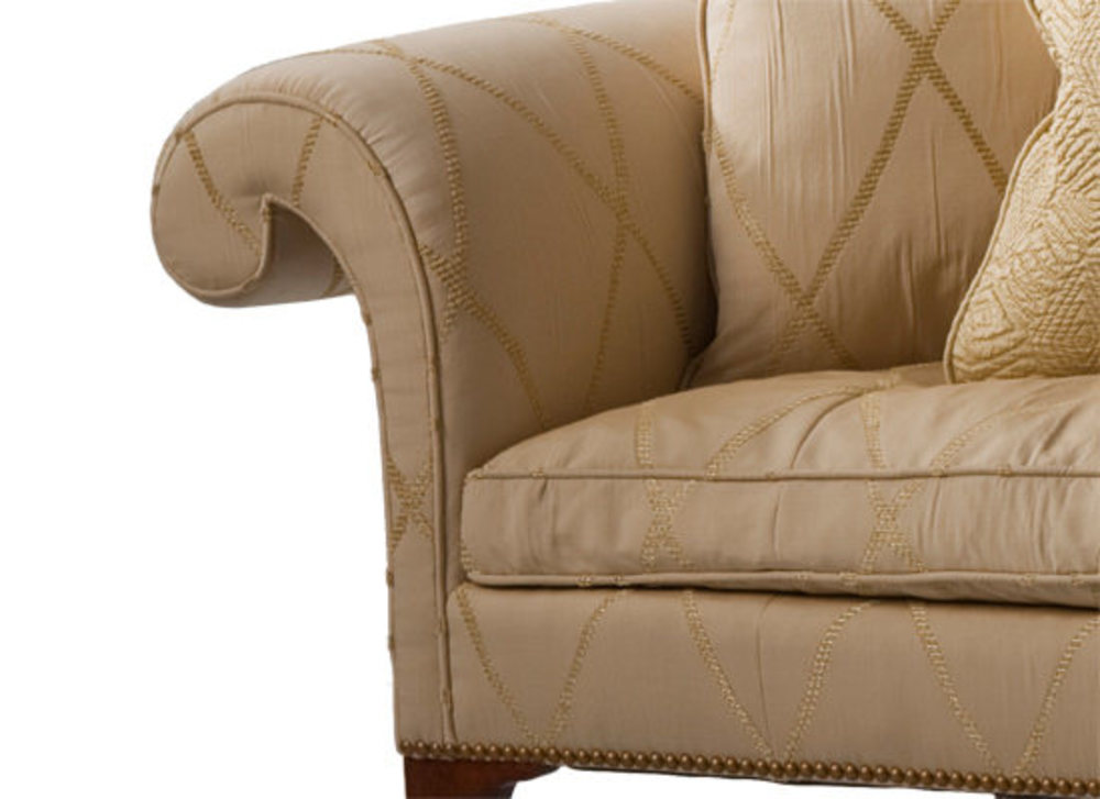 Kindel Furniture Company - Irish Camelback Sofa