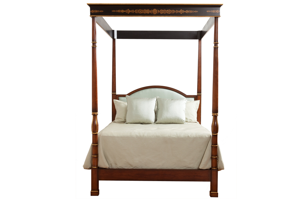 Kindel Furniture Company - Regency Poster Bed with Canopy, Queen