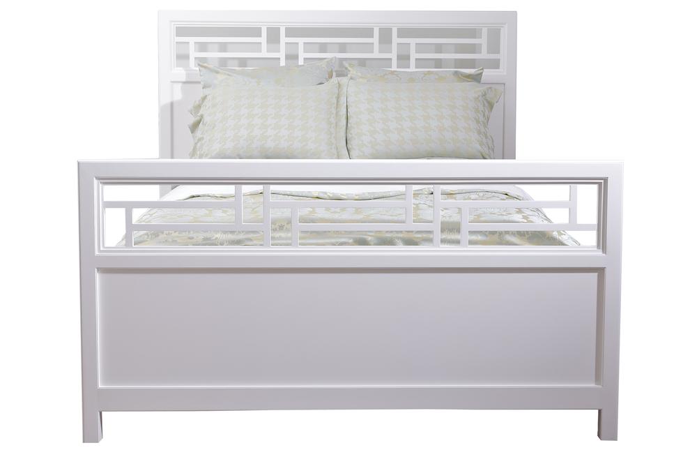 Kindel Furniture Company - Varney Lattice Bed, Queen