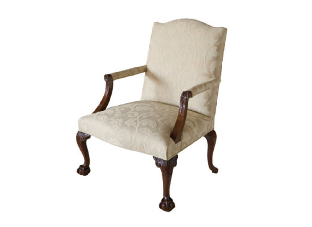 Kindel Furniture Company - Chippendale Library Chair