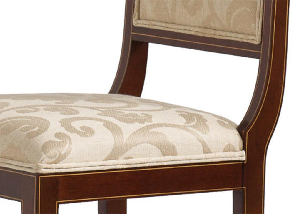 Kindel Furniture Company - Sleigh Back Side Chair