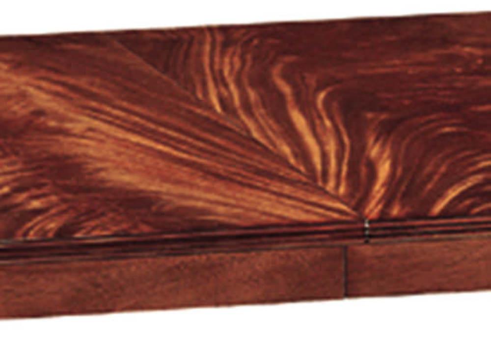 Kindel Furniture Company - Crotch Mahogany Pedestal Table