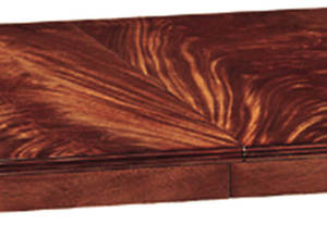 Thumbnail of Kindel Furniture Company - Crotch Mahogany Pedestal Table