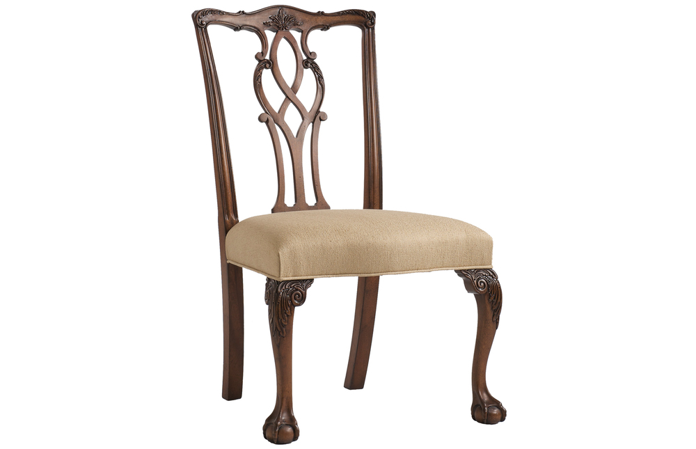 Kindel Furniture Company - Tall Chippendale Side Chair