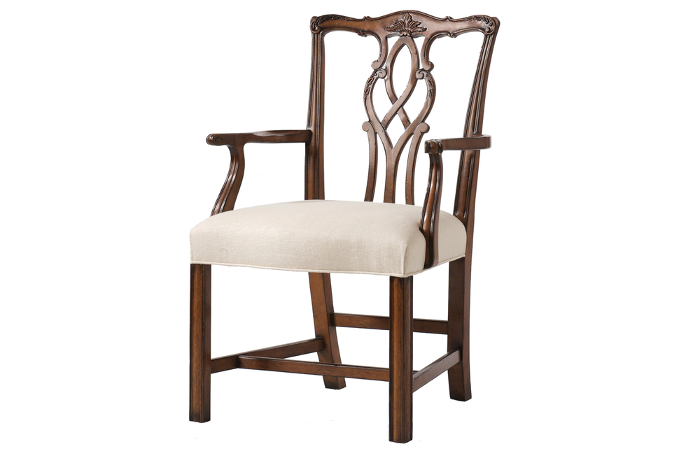Kindel Furniture Company - Chippendale Arm Chair
