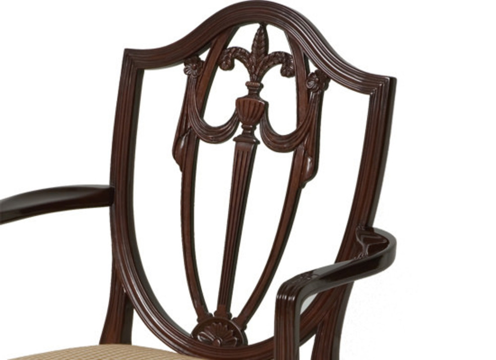 Kindel Furniture Company - Shield Back Arm Chair