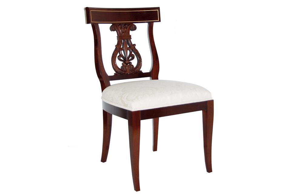 Kindel Furniture Company - Lyre Back Side Chair