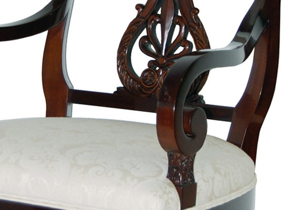 Kindel Furniture Company - Lyre Back Arm Chair