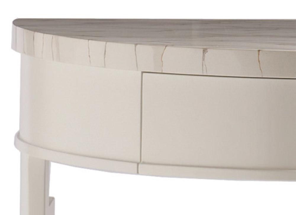 Kindel Furniture Company - Demi Lune Night Table