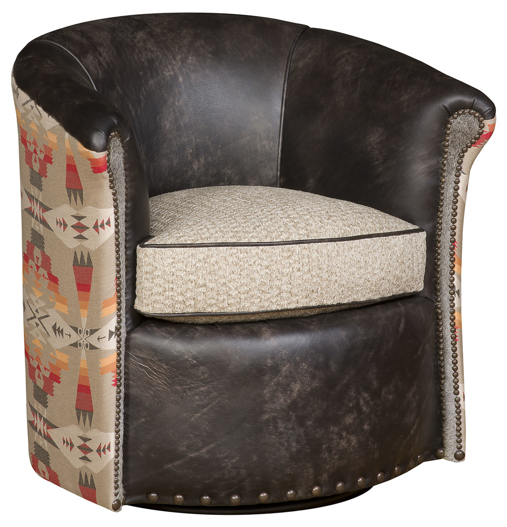 King Hickory - Wonder Swivel Glide Chair
