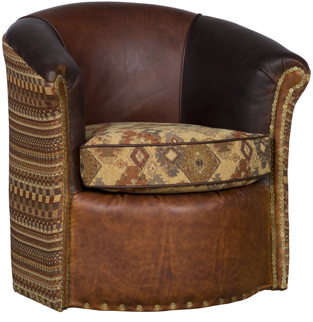 King Hickory - Wonder Swivel Glide Chair