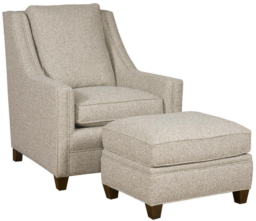 King Hickory - Brandon Chair and Ottoman