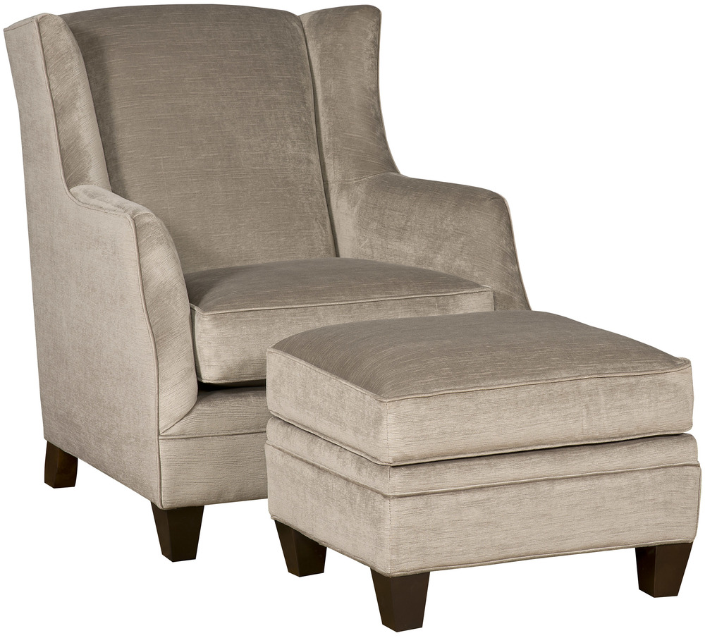 King Hickory - Gracie Chair and Ottoman