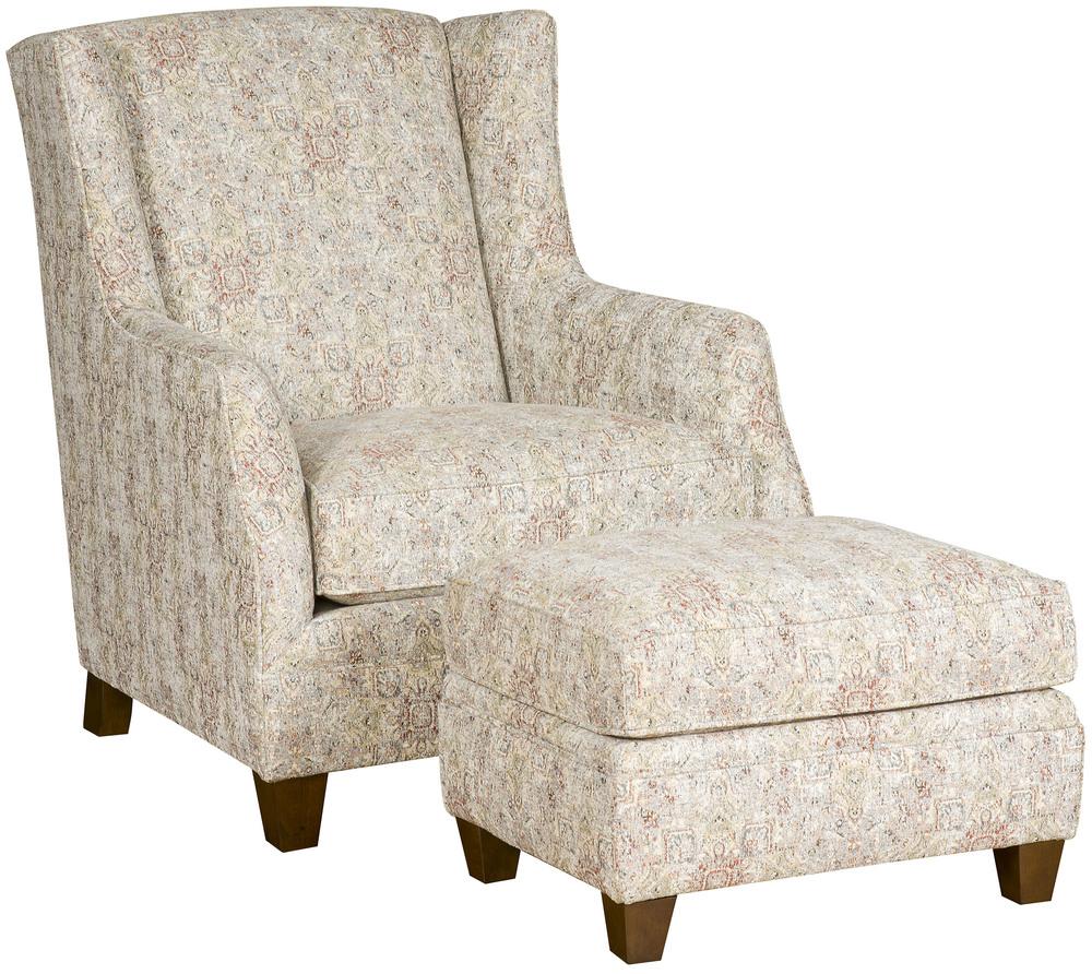 King Hickory - Grayson Chair and Ottoman