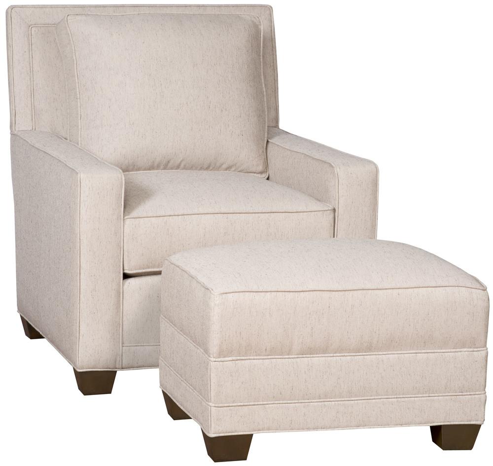 King Hickory - Savannah Chair and Ottoman