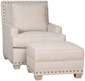 Thumbnail of King Hickory - Savannah Chair and Ottoman