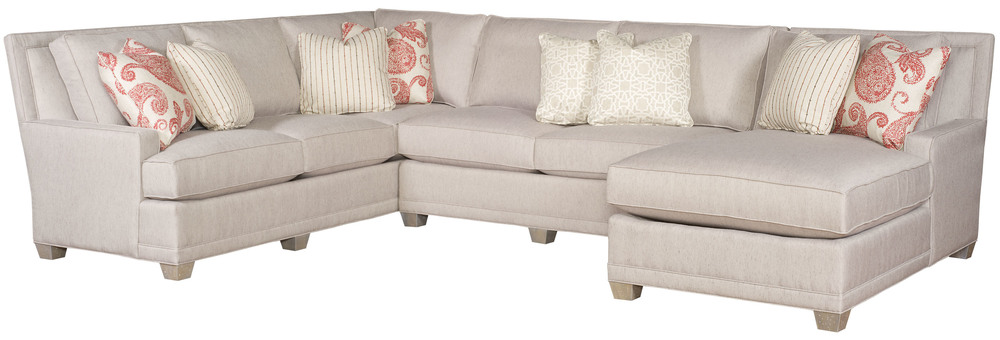 King Hickory - Savannah Three Piece Sectional with Chaise