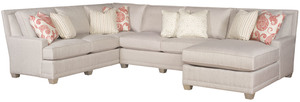 Thumbnail of King Hickory - Savannah Three Piece Sectional with Chaise
