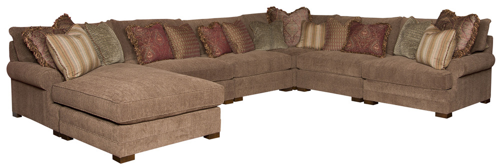 King Hickory - Casbah Seven Piece Sectional with Chaise