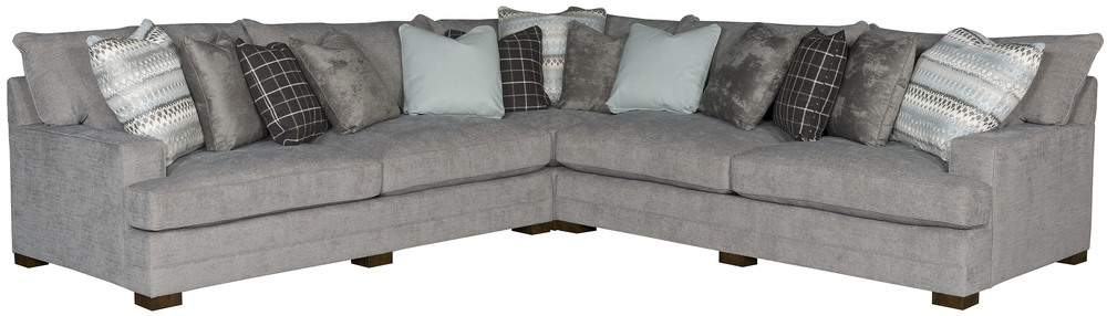King Hickory - Casbah Three Piece Sectional