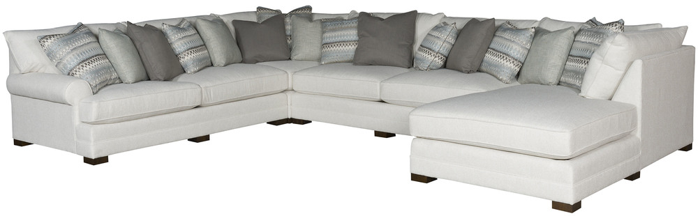 King Hickory - Casbah Four Piece Sectional with Chaise