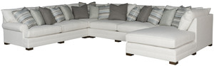 Thumbnail of King Hickory - Casbah Four Piece Sectional with Chaise