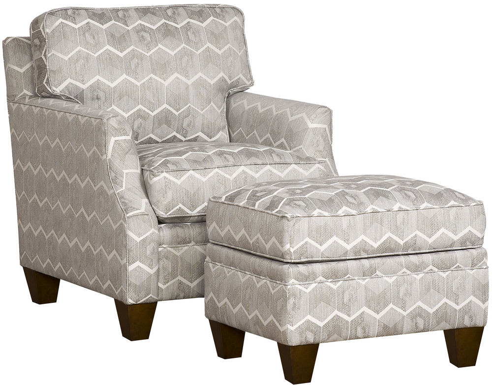 King Hickory - Cory Chair and Ottoman