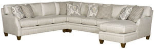 Thumbnail of King Hickory - Cory Four Piece Sectional with Chaise