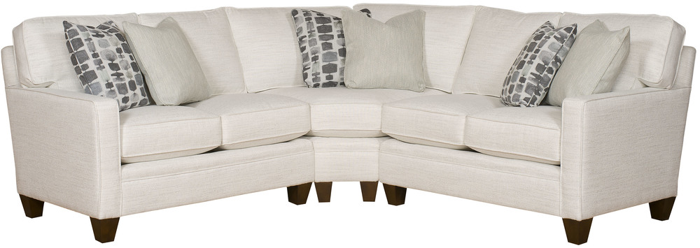 King Hickory - Cory Three Piece Sectional