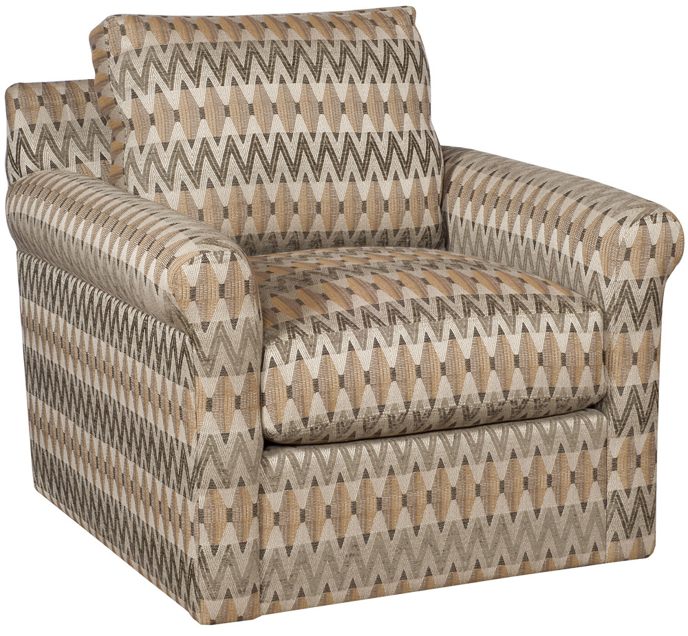 King Hickory - Darby Swivel Chair