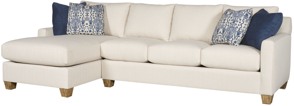 King Hickory - Darby Two Piece Sectional with Chaise