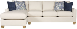 Thumbnail of King Hickory - Darby Two Piece Sectional with Chaise
