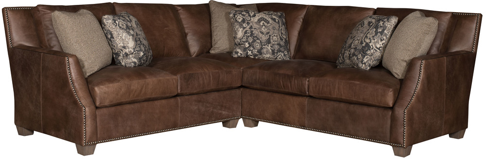 King Hickory - Santiago Two Piece Leather Sectional