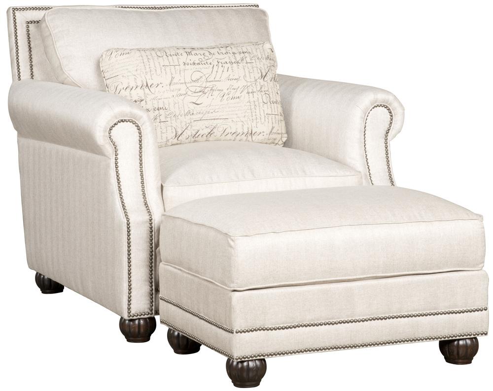 King Hickory - Julianna Chair and Ottoman