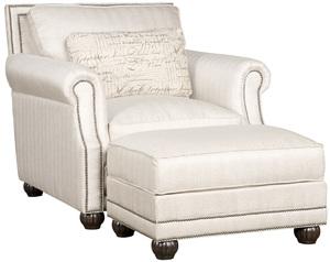 Thumbnail of King Hickory - Julianna Chair and Ottoman
