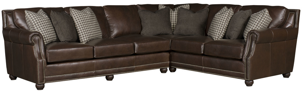 King Hickory - Julianna Leather Two Piece Sectional