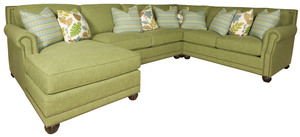 Thumbnail of King Hickory - Julianna Four Piece Sectional with Chaise