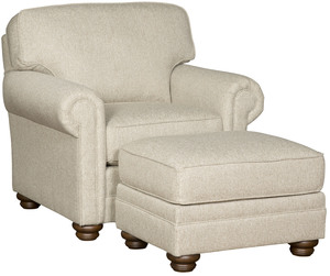 Thumbnail of King Hickory - Bentley Chair and Ottoman