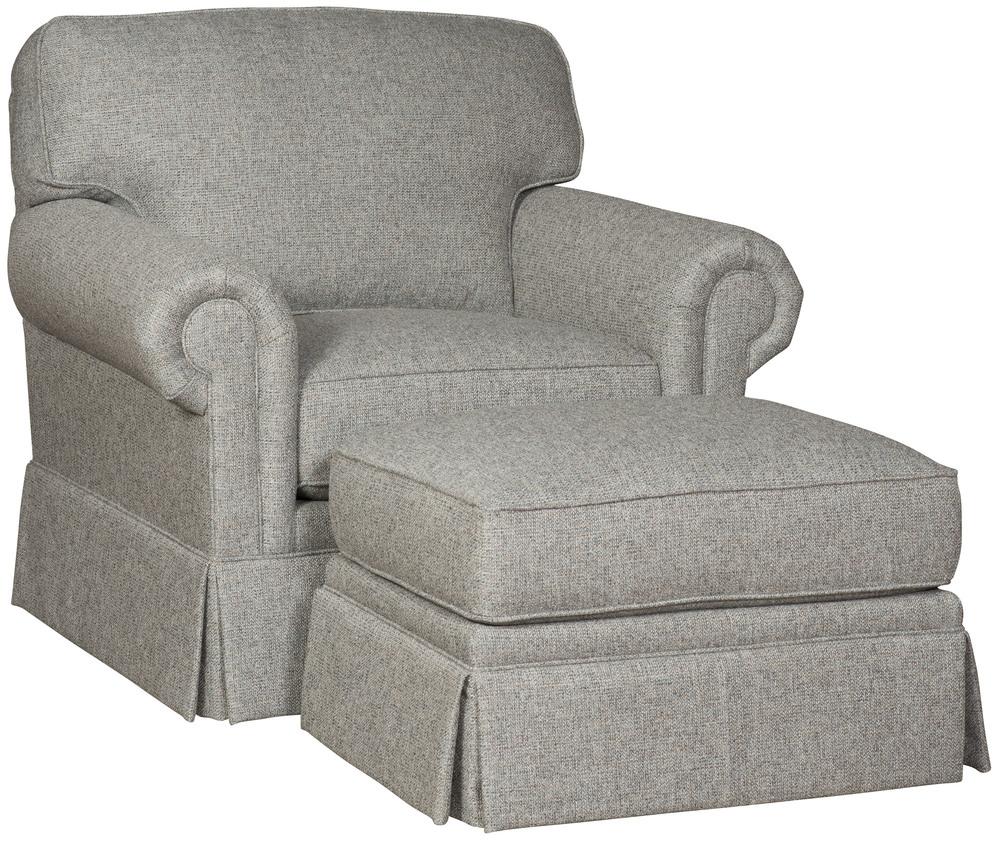 King Hickory - Bentley Chair and Ottoman