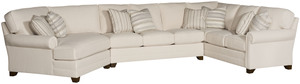 Thumbnail of King Hickory - Bentley Three Piece Sectional with Wedge End